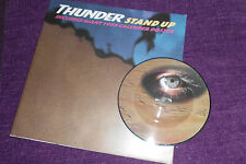 "THUNDER  ""Stand up ""1994 UK 7"" PIC DISC. + GIANT CALENDER POSTER EMPD 365"