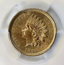 1859 INDIAN HEAD CENT PCGS MS-62