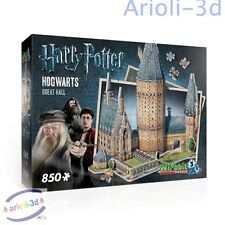 HARRY POTTER HOGWARTS POUDLARD - GREAT HALL - WREBBIT 3D -  puzz - NEW SEALED