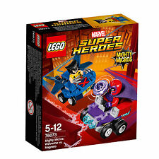76073 LEGO Super Heroes Mighty Micros: Wolverine vs. Magneto 85 Pieces Age 5-12