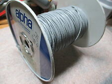 alpha 3210-Y03 1 Conductor 24 awg. TC Wire PVC Wrapped 750ft.