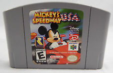 Mickey's Speedway USA (Nintendo 64, 1997) Game ONLY Used