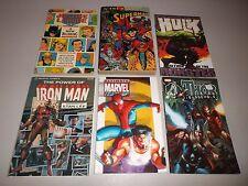 Marvel / DC TPB (Lot of 6) Thor, Iron Man, Hulk, Superman  Cheap Reading!
