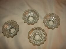 4 Antique Holophane Signed 1912 Shades  Chandeliers Fixtures Lights Sconce Lamp