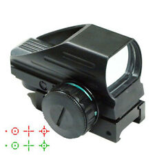 Tactical Red Green Dot Holographic Sight 4 Reticle Reflex for Outdoor#H