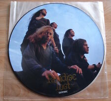 PARADISE LOST GOTHIC LP 1991 UK PEACEVILLE PICTURE DISC DOOM BARELY PLAYED