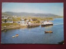 POSTCARD ISLANDS TARBET HARRIS - CAR FERRY M.V. 'HEBRIDES'