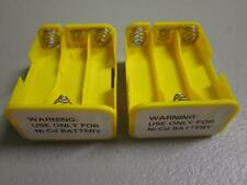 LOT of 2 6AA Battery Holder for Earlier Realistic/RadioShack PRO-Series Scanners