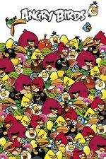 Angry Birds Pile Up POSTER 60x90cm NEW * red black blue yellow white green bird