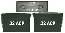 """.32 ACP Ammo Box(decals) Two 7""""x 1.5"""" One 4""""x0.75"""" No Box Included"""