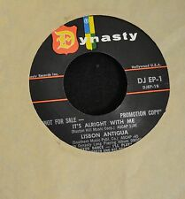 OBSCURE POP EP Lisbon Antigua Dynasty DJ 1 It's Alright With Me and So In Love