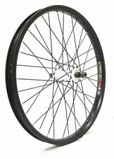 "Savage 20"" BMX Front Wheel (3/8"" Axle) Alloy Double Wall Rim (Black + White) NEW"
