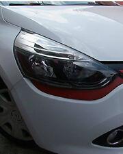 jeu de 2 Entourages Sous Phares ROUGE pour Renault Clio 4 IV