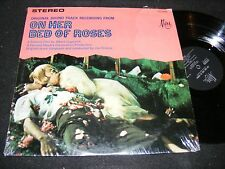 Erotic Movie Soundtrack Rarity ON HER BED OF ROSES LP Psychopathia Sexualis MIRA