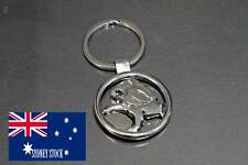 Holden Nickel Plated Silver Metal Keyring Fob Bag Charm