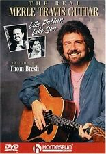 Thom Bresh The Real Merle Travis Guitar DVD NEW!