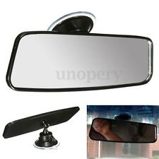 Car Truck Wide Curve Convex Interior Suction Stick Panoramic Rear View Mirror