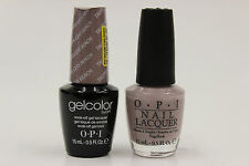 (GCA61 + NLA61) - OPI GELCOLOR + NAIL LACQUER - TAUPE-LESS BEACH 0.5oz