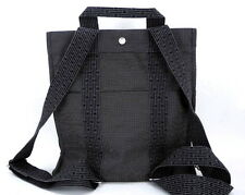NEW AUTHENTIC HERMES CANVAS SAC HER LINE ADO MM BACKPACK GRAY