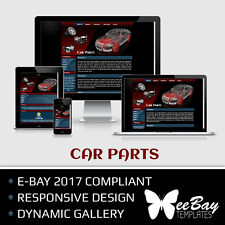 Professional eBay 2017 Auction Listing Template 11 CAR PARTS Responsive Design