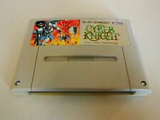CYBERKNIGHT CYBER KNIGHT SUPER FAMICOM NINTENDO NRMT GAME CARTRIDGE US SELLER
