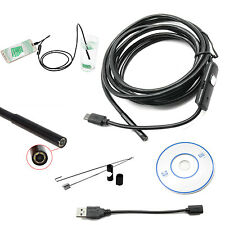 2M 5.5mm Lens 6 LED Android Waterproof Endoscope Borescope Inspection Camera USB