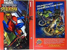 ULTIMATE SPIDERMAN 1 UNIVERSAL ORLANDO ISLAND ADVENTURE GIVEAWAY PROMO VARIANT F