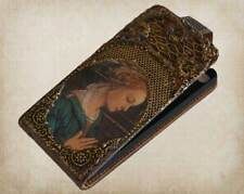 Couture iPhone 5 Case - Vintahe Style Leather 3d iPhone 5 Case