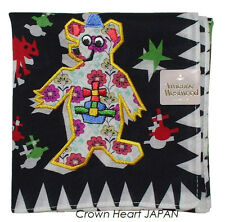 New Vivienne Westwood Handkerchief / Mini Scarf Bear Monsters Rare! 49x49cm