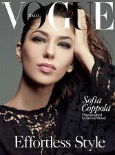 Vogue Italia,Sofia Coppola,Mariacarla Boscono,Lea Seydoux,Guinevere Van Seenus