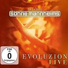 Evoluzion Live von Söhne Mannheims (2015) CD+DVD Neuware