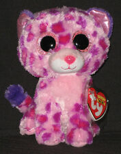 TY BEANIE BOOS BOO'S - GLAMOUR the LEOPARD- MINT with MINT TAG