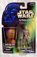 Star Wars - POTF - Grand Moff Tarkin - Green Card - New - MOC