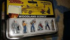 HO Scale Woodland Scenics Ho Scale Figurines Auto Mechanics A1914