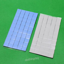 100pcs 10x10x1MM SMD DIP GPU Chip Heatsink Silicone Paste Compounds Thermal Pad