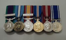 GSM NI, Cyprus, Iraq, Jubilee, Police LSGC, Miniature Court Mounted Medals, Mini