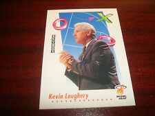 Kevin Loughery Heat St. John's 1992 Skybox #391 Signed Authentic Auto back N13