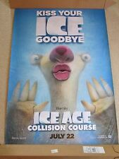 """HUGE 70"""" x 48"""" Ice Age: Collision Course 2016 Thick Movie Theater Banner/Poster"""