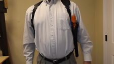 "VERTICAL RIGHT Shoulder Holster SMITH & WESSON S&W Model 460 XVR w/ 12"" barrel"