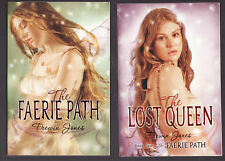 THE FAERIE PATH/ THE LOST QUEEN by Frewin Jones (2007) 2PBs ~V1 & V2 of series~