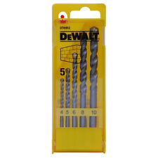 DEWALT DT6952 MASONARY DRILL BIT SET 4-10MM IN CASE