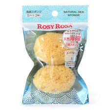From JAPAN Rosy Rosa About 55mm Natural sea cotton sponge S 2P / Tracking SAL