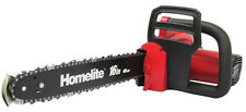 "Homelite UT43120 16"" Bar 12-Amp Electric Corded Tree ChainSaw w/ Comfort Handle"