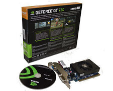 NVIDIA Geforce GT 730 2GB 128 bit DDR3 PCI Express 2.1  Video Graphics Card HMDI