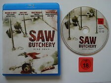 UNCUT  __  SAW Butchery  __  NINE DEAD ...  __  Blu Ray  __  FSK 18