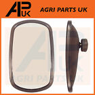 "Universal Wing Mirror Head & Glass 10"" x 6"" Tractor Digger Lorry Truck Plant etc"