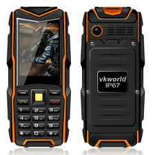 "VkWorld Stone V3 Waterproof Rugged 2.4"" Mobile Cell Phone GSM 5200mA Smartphone"