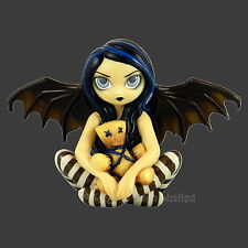 Large *VOODOO IN BLUE* Goth Fairy Figurine By Jasmine Becket-Griffith [11cm]