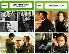 FICHE CINEMA x2 : JEAN-PIERRE LEAUD DE 1957 A 1997 -  France (Biographie/Filmo)