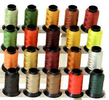 20 Spools HALLOWEEN THANKSGIVING AUTUMN FALL Embroidery Machine Thread
